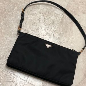Authentic Prada nylon mini handbag